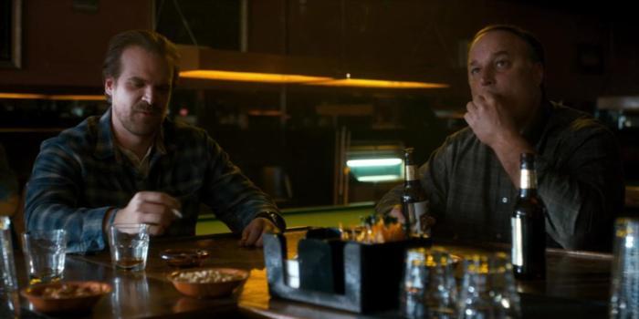 Netflix's Stranger Things Season 4 Episode 4 The Body Hopper and random guy