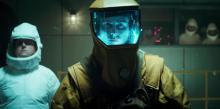 Netflix's Stranger Things Season 4 Episode 4 The Body Shepard prepares to enter the monster