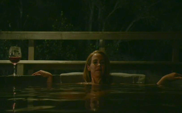 FX's 'American Horror Story Roanoke' Chapter 1 Shelby in the hot tub