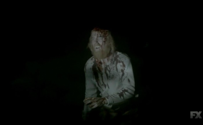 FX's 'American Horror Story Roanoke' Chapter 1 The scalped guy