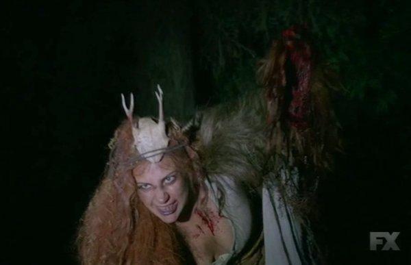 FX's 'American Horror Story Roanoke,' Season 6, Chapter 2 Lady Gaga likes bacon