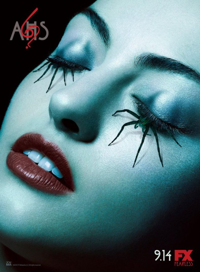 FX's 'American Horror Story,' Season 6 promo pic, spider eyelashes