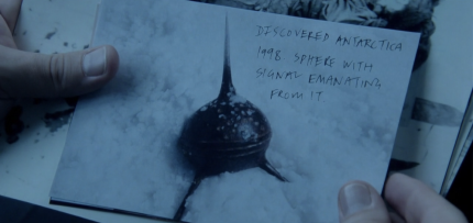 Showcase 'The Kettering Incident,' Season 1, Episode 8, The Homecoming. The spiky sphere