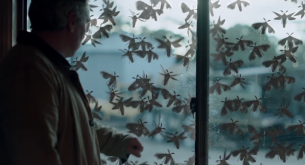 """Showcase's 'The Kettering Incident,' Season 1, Episode 2, """"The Lights."""" Max and the moths"""