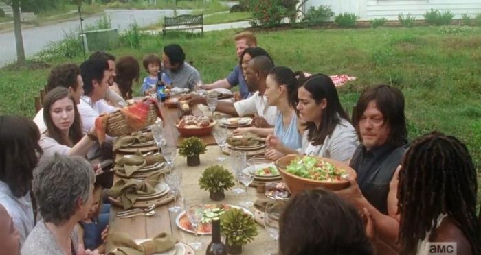 AMC's 'The Walking Dead,' Season 7, Episode 1, If TWD had a happy ending
