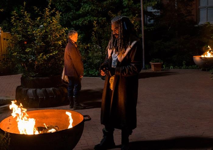AMC's 'The Walking Dead,' Season 7, Episode 2, Carol and Ezekiel talk