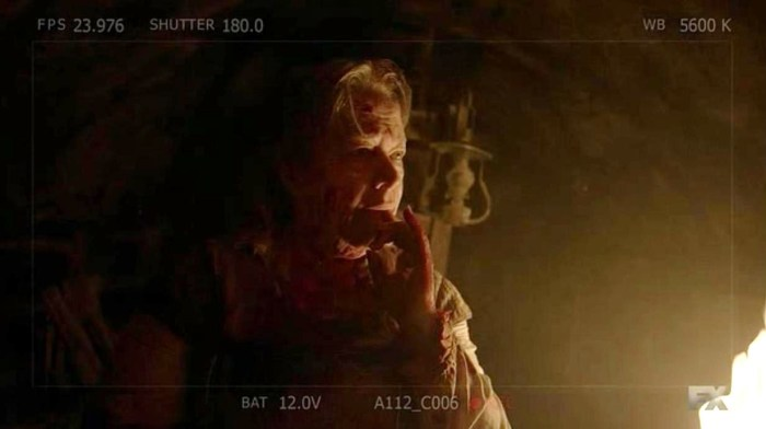 FX's 'American Horror Story Roanoke,' Chapter 7, Anges as the Butcher