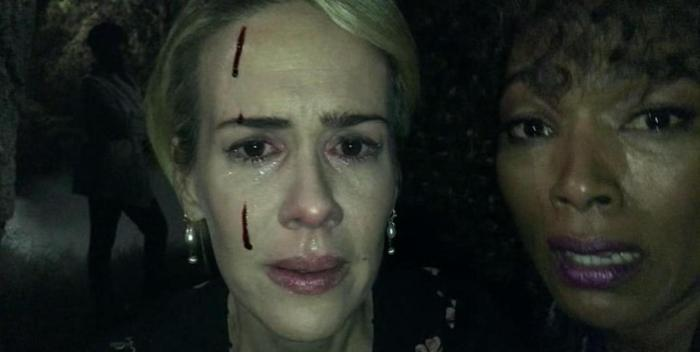 FX's 'American Horror Story Roanoke,' Chapter 7, Audrey and Monet up close