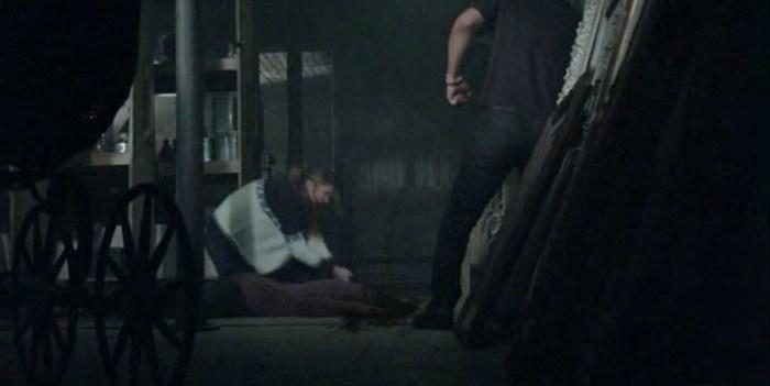 FX's 'American Horror Story Roanoke,' Chapter 7, Dominic, Shelby kills Matt