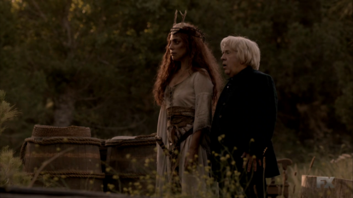 FX's 'American Horror Story Roanoke,' Season 1, Episode 4, Cricket and Lady Gaga