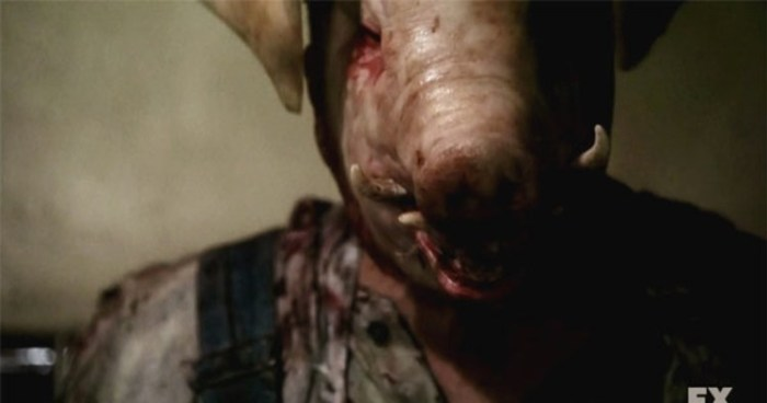 FX's 'American Horror Story Roanoke,' Season 1, Episode 4, the Pig Man