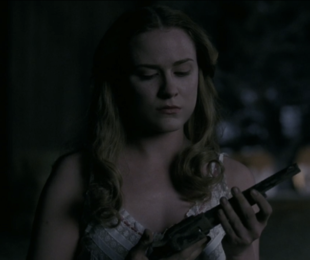 HBO's 'Westworld,' Season 1, Episode 2, Dolores and the gun