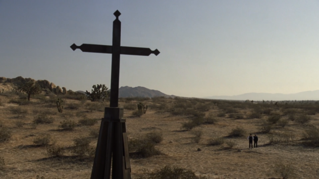 HBO's 'Westworld,' Season 1, Episode 2 the cross structure