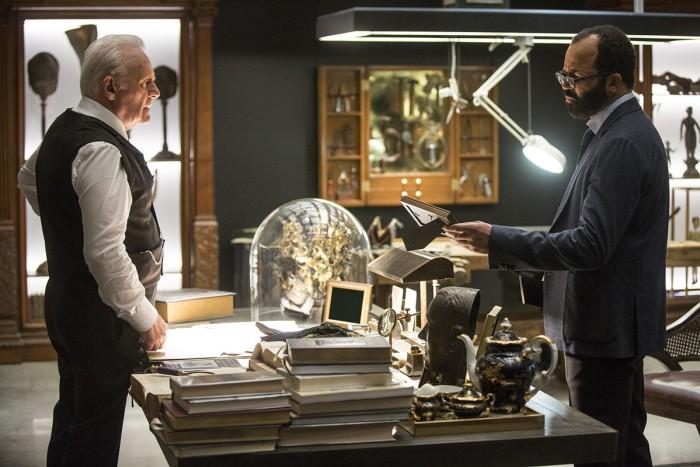 HBO's 'Westworld,' Season 1, Episode 3, Dr Ford and Bernard