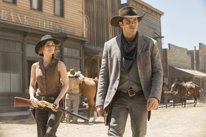 HBO's 'Westworld,' Season 1, Episode 3, Teddy and Marti