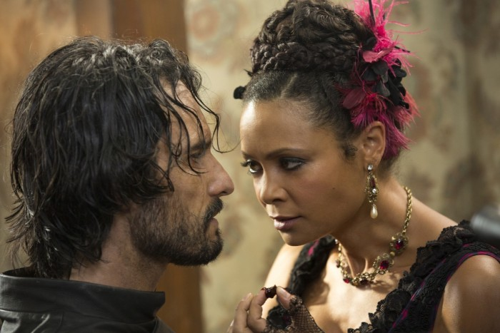 HBO's 'Westworld,' Season 1, Episode 4, Maeve and Hector