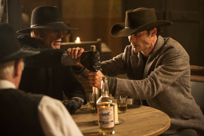 HBO's 'Westworld,' Season 1, Episode 5, Man in Black, Teddy and Dr Ford