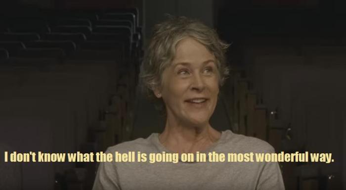 AMC's 'The Walking Dead,' Season 7 Comic Con trailer Crazy Carol text