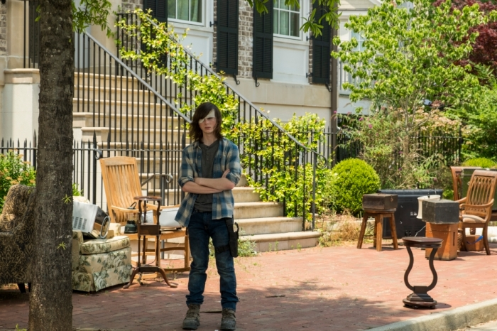 AMC's 'The Walking Dead,' Season 7, Episode 4, Carl