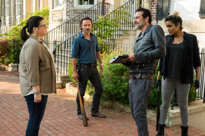 AMC's 'The Walking Dead,' Season 7, Episode 4, Olivia and Negan