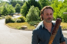 AMC's 'The Walking Dead,' Season 7, Episode 4, Rick with Lucille