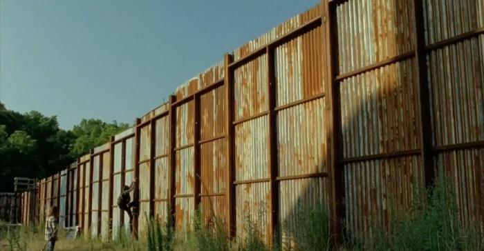 AMC's 'The Walking Dead,' Season 7, Episode 5, Carl and Enid