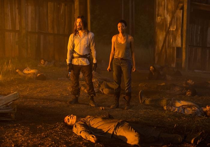 AMC's 'The Walking Dead,' Season 7, Episode 5, Jesus and Sasha