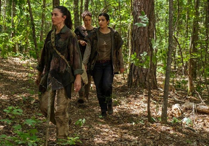 AMC's 'The Walking Dead,' Season 7, Episode 6, Kathy, Beatrice and Tara