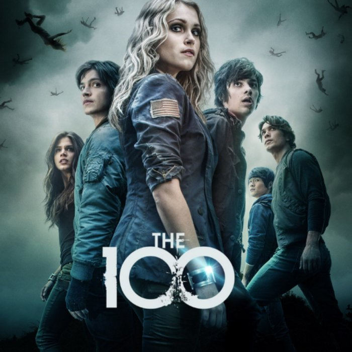 CW Network, 'The 100,' promotional image