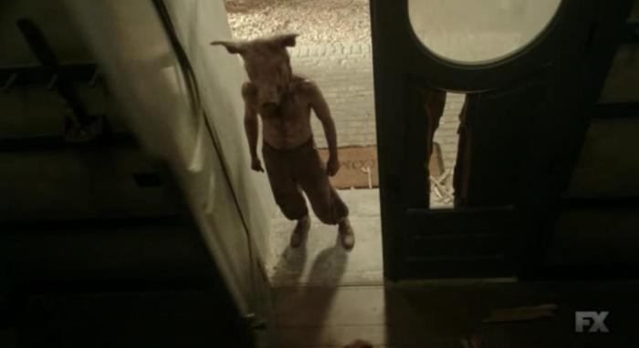 FX's 'American Horror Story Roanoke,' Season 6, Chapter 7, Pig Man