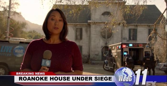 FX's 'American Horror Story Roanoke,' Season 6, Episode 10, finale, Breaking news report