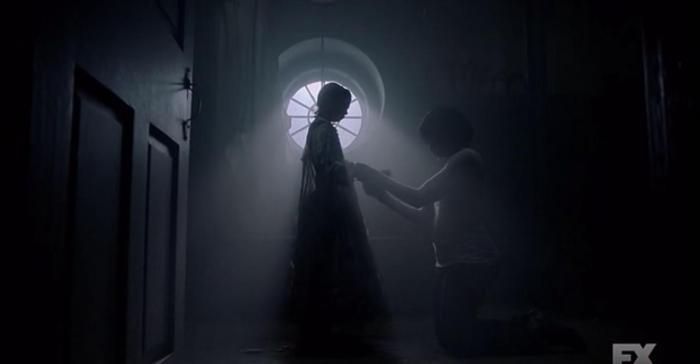 FX's 'American Horror Story Roanoke,' Season 6, Episode 10, finale, Prescilla and Lee