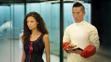 HBO's 'Westworld,' Season 1, Episode 6, Maeve and Felix