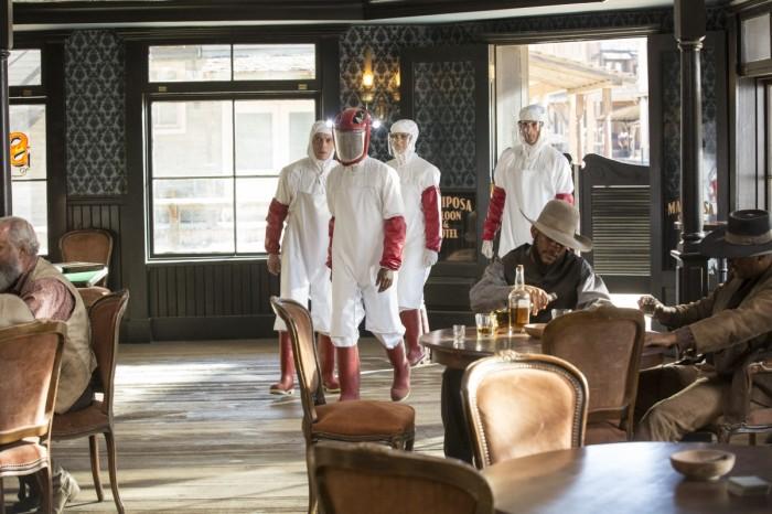 HBO's 'Westworld,' Season 1, Episode 7, the Mariposa saloon