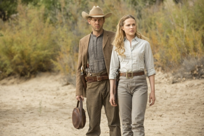 HBO's 'Westworld,' Season 1, Episode 8, William and Dolores