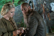 History Channel's 'Vikings,' Season 4 Part 2, Episode 11, Ragnar and Helga
