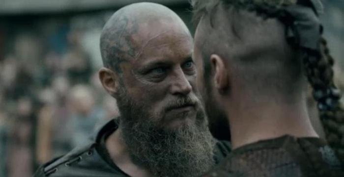History's 'Viking,' Season 4B, Episode 11, Ragnar and Ubbe