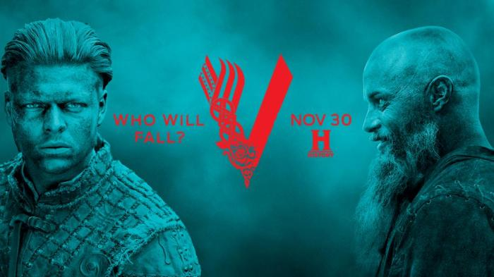 History's 'Vikings,' Season 4, Part 2, Blue, Ivar the Boneless and Ragnar Lothbrok