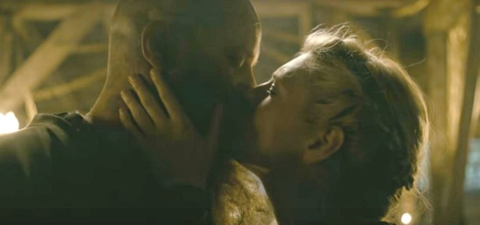 History's Vikings Season 4 video San Diego Comic Con 2016 Ragnar and Lagertha kissing