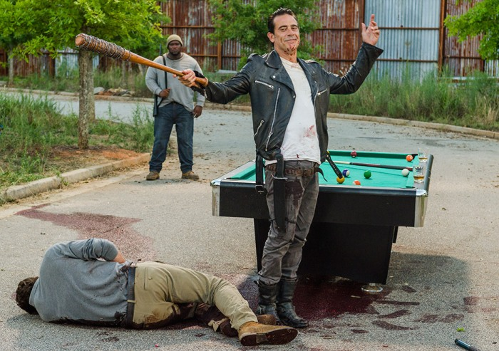 AMC's 'The Walking Dead,' min-season finale, Season 7, Episode 8, Hearts Still Beating, Negan and dead Spencer