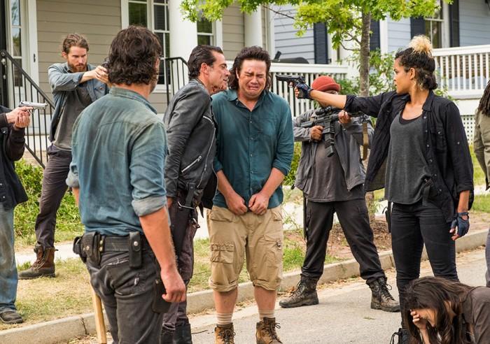AMC's 'The Walking Dead,' min-season finale, Season 7, Episode 8, Hearts Still Beating, Negan and Eugene