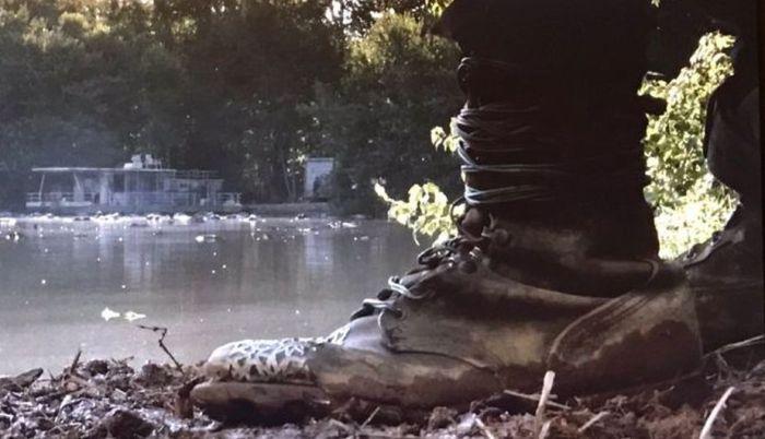 AMC's 'The Walking Dead,' min-season finale, Season 7, Episode 8, Hearts Still Beating, the boots