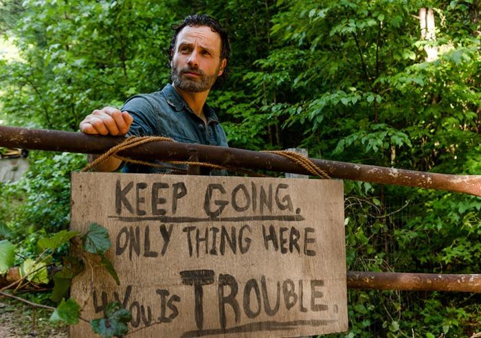 AMC's 'The Walking Dead,' Season 7, Episode 7, Rick Grimes