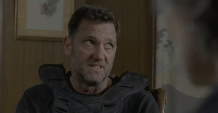 AMC's 'The Walking Dead,' Season 7, Episode 8, a member of the Kingdom