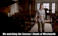 HBO's 'Westworld,' Season 1 finale meme
