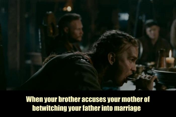 History's 'Viking,' Season 4B, Episode 12, Siggurd meme