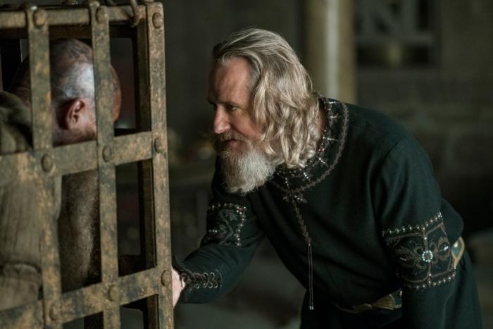 History's 'Vikings,' Season 4, Part 2, Episode 14, Ragnar Lothbrok and King Ecbert