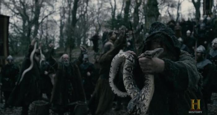 History's 'Vikings,' Season 4, Part 2, Episode 15, Snakes