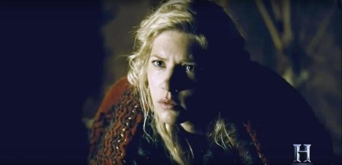 History's 'Vikings,' Season 4, Part 2, Episode 16, Crossing, Lagertha visits the Seer