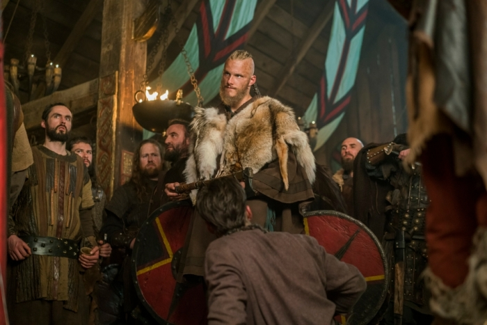 History's 'Vikings,' Season 4, Part 2, Episode 17, The Great Army, Bjorn Ironside